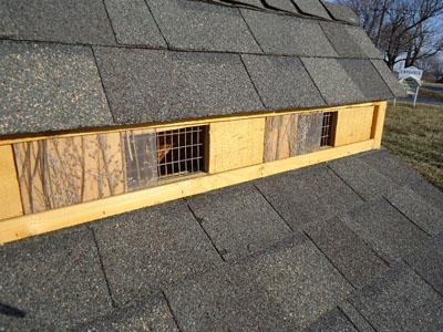 chicken coop roof ventilation 2