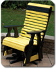 Yellow and Black Chairs, Stools, Tables