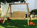 Wood Easy Swing and A-Frame