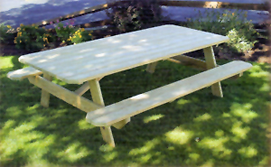 Full Line of Picnic Tables Available