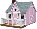Playhouses Available in a Variety Styles and Colors