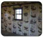 Log Cabin Interior Wall Prints