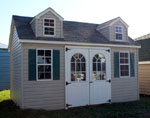 Shed Cape Cod Vinyl Shed Sale